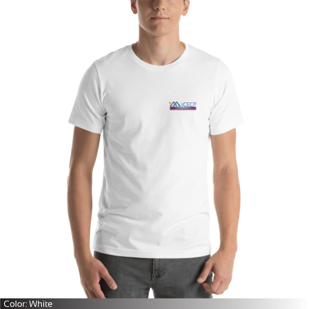 Mef cecp certified red short sleeve unisex t shirt t shirts malvernweather Choice Image